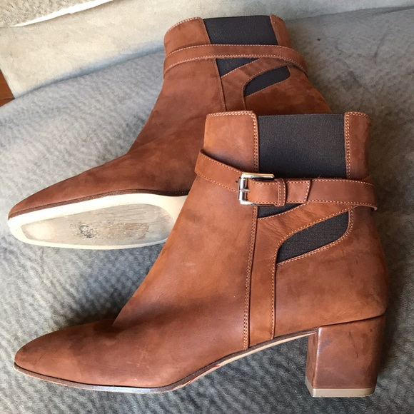364388ef0a Gianvito Rossi Shoes | Sale Caramel Ankle Boot Buckle Toe | Poshmark